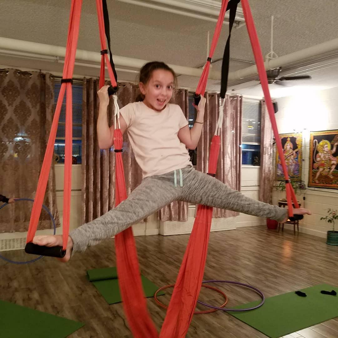 Manasa Yoga Studio Trapeze Fun