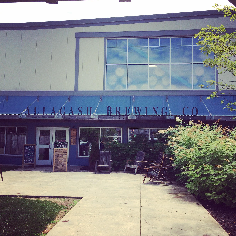 Allagash Brewery in Portland, Maine