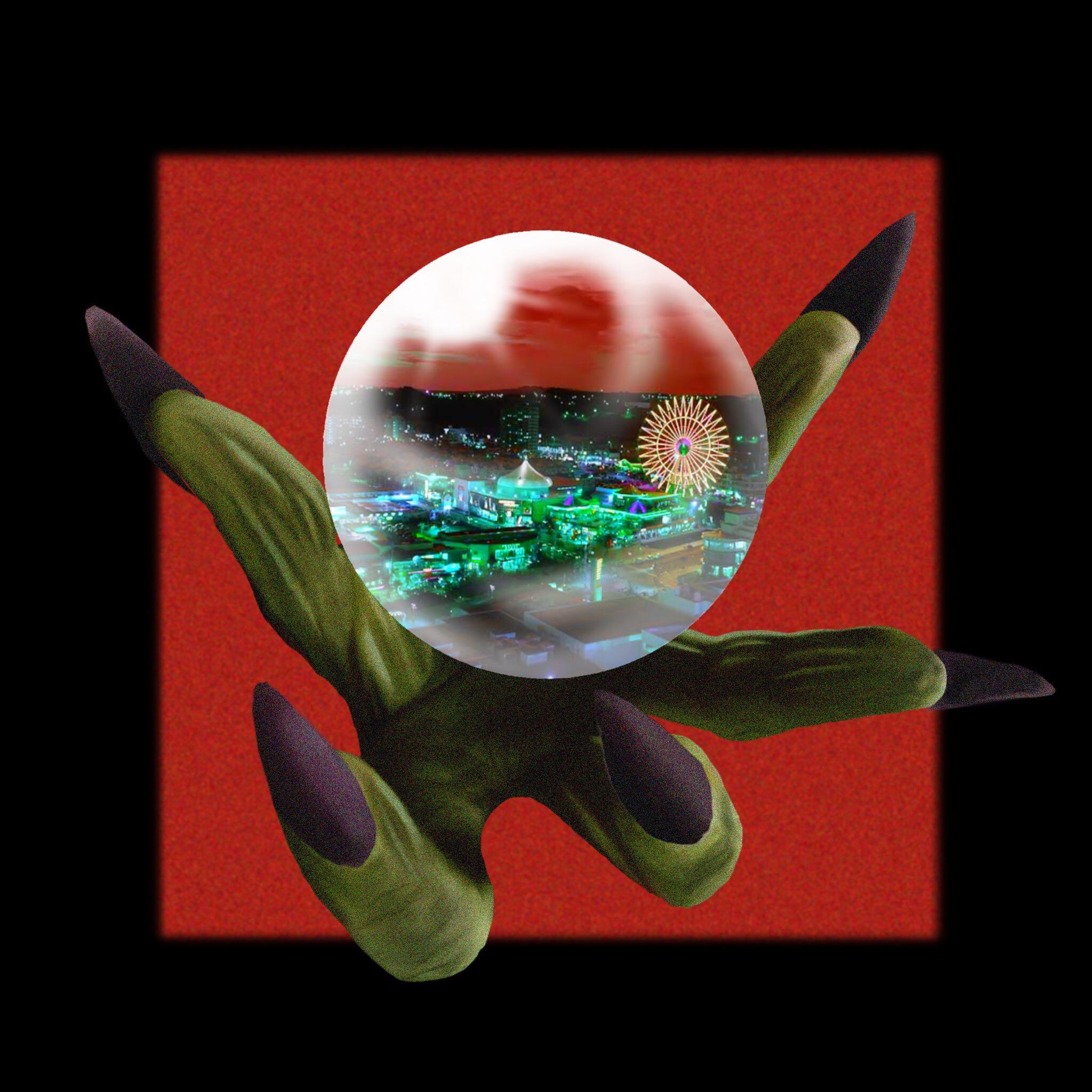 JOE IRON - Devil City ft OZworld aka R'kuma, Lazy Wii & 1otu5 (cover art)