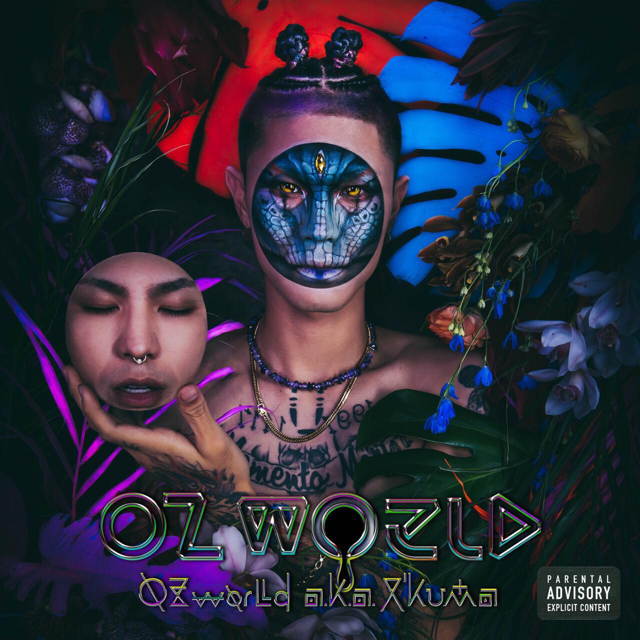 "Ozworld aka R'kuma ""OZWORLD"" Album Cover"