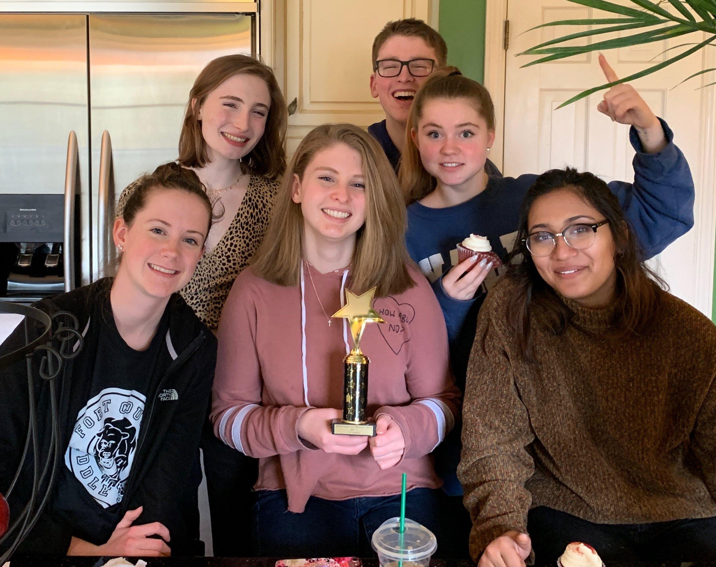 USCHS - 1st Place! Div 3