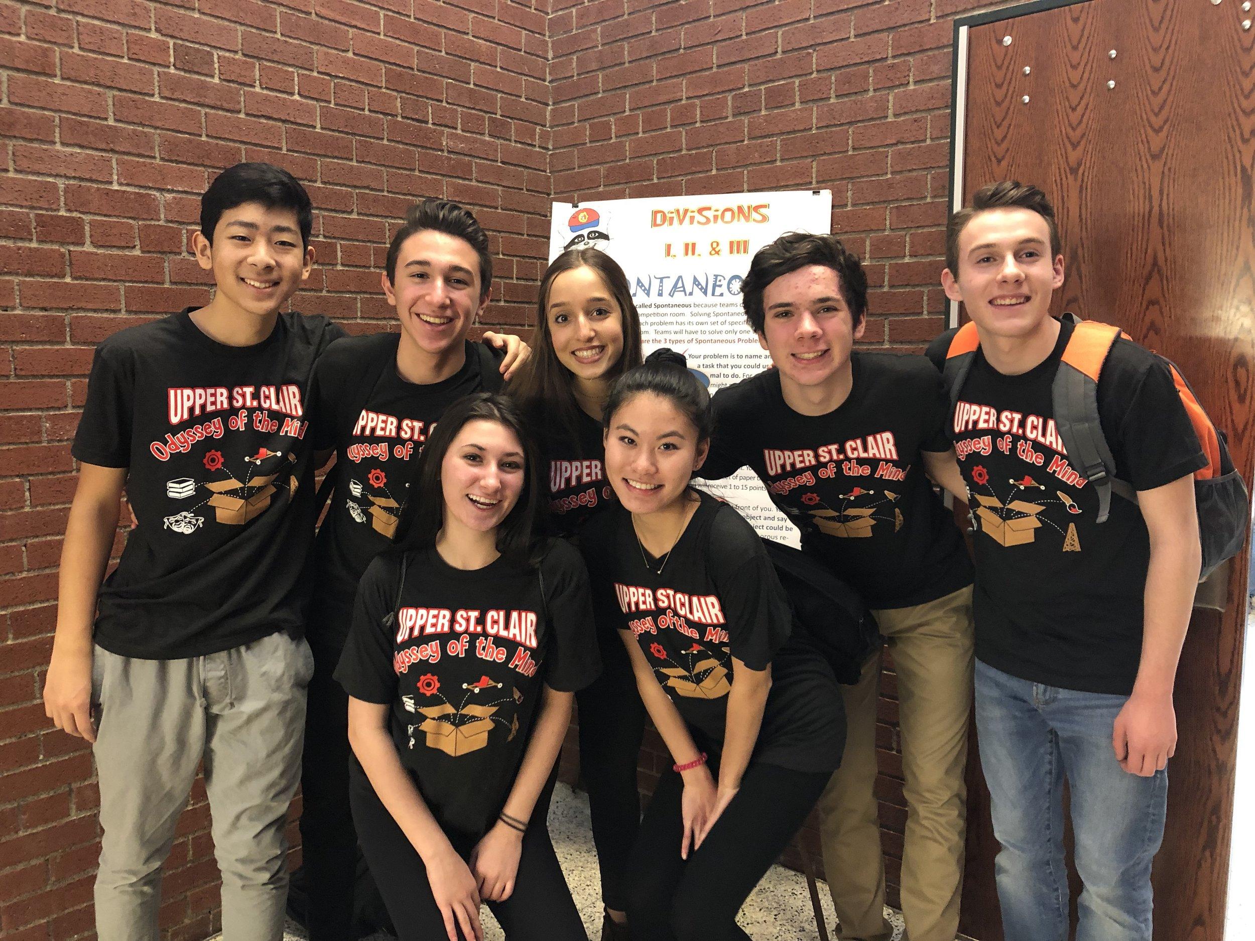 USCHS - 1st place P5/D3