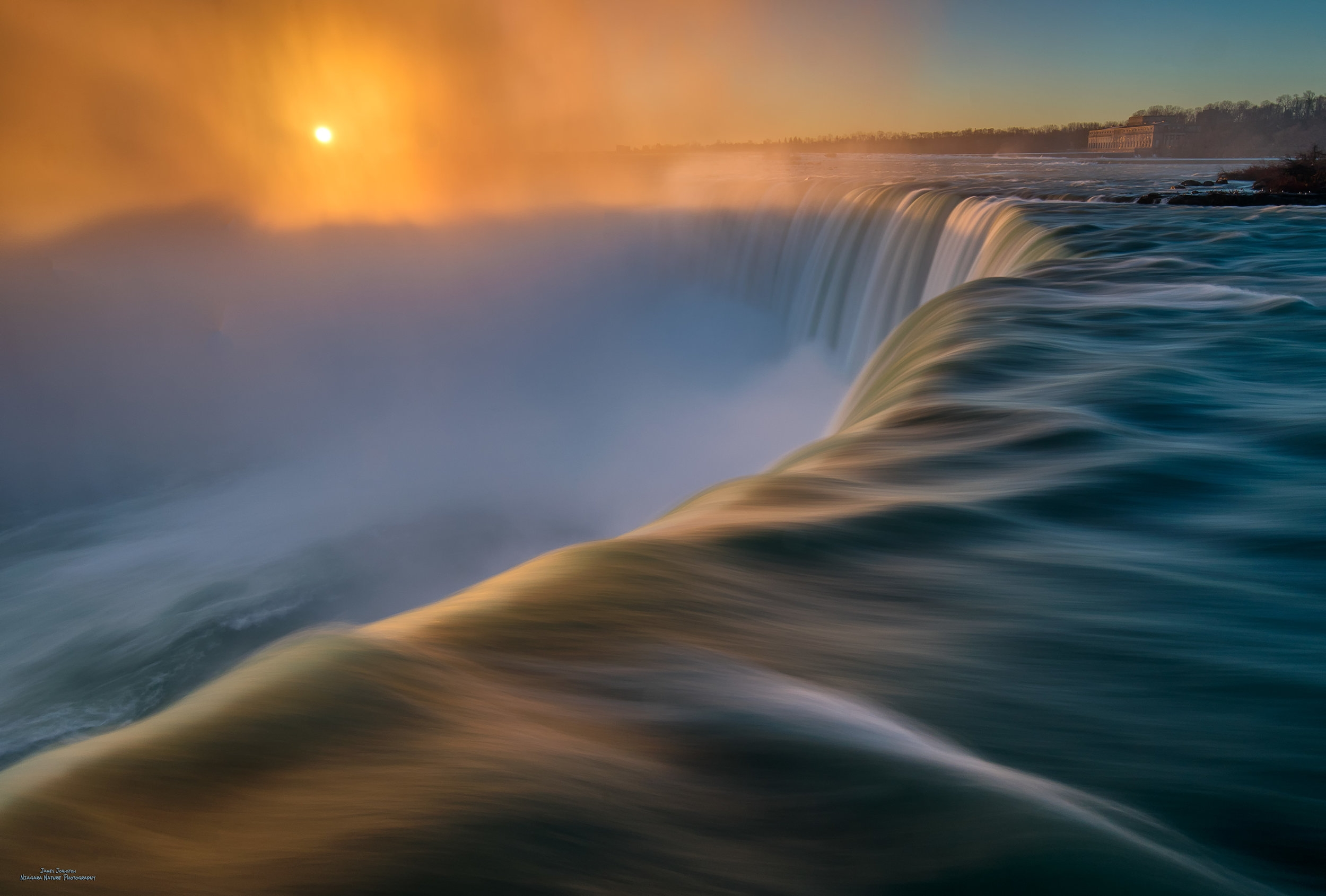 Soft Niagara Sunrise
