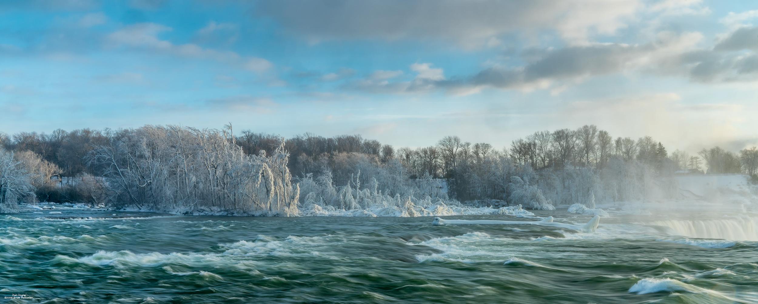 Frozen Niagara Panorama