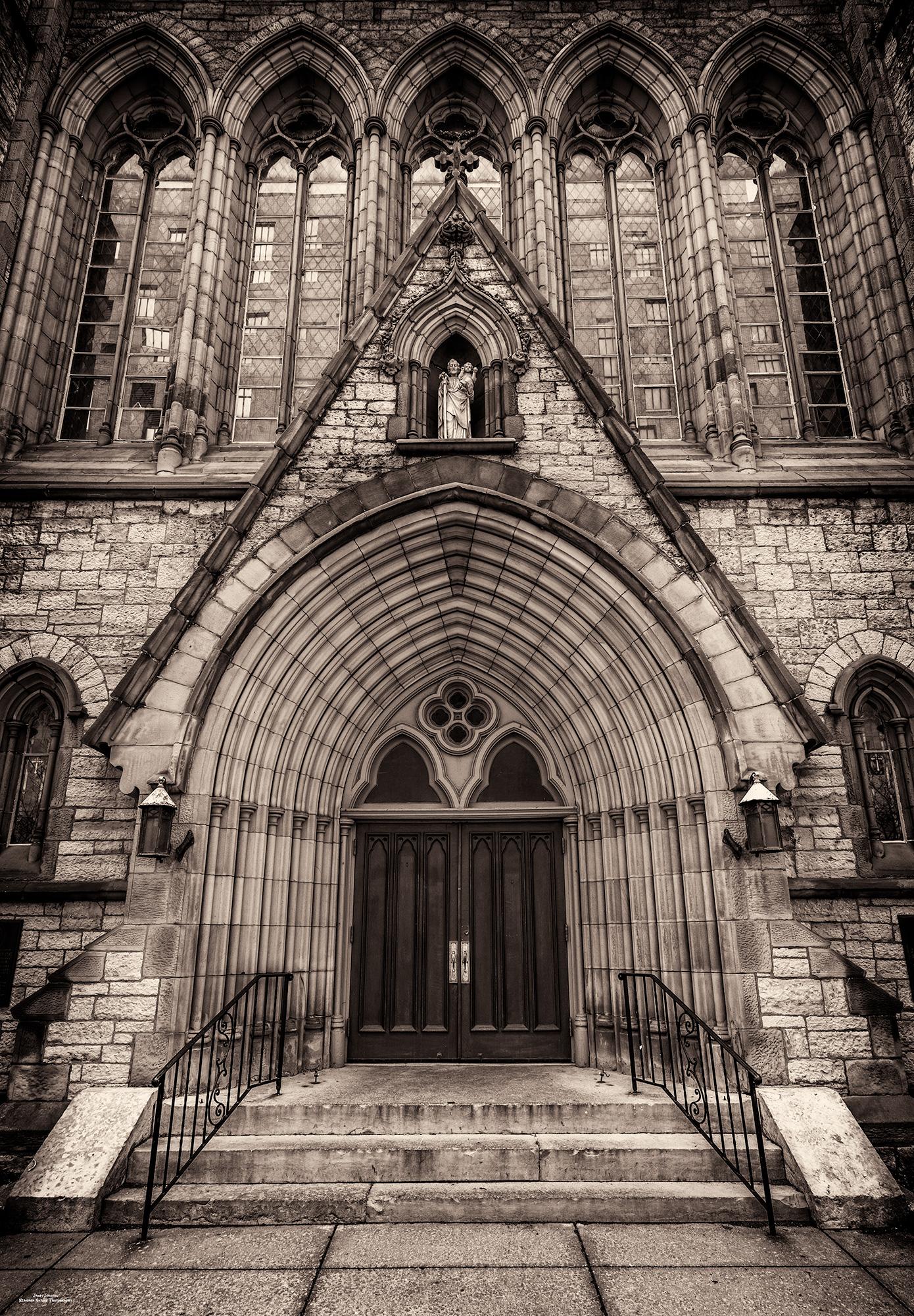 Door To St. Joseph's R.C.