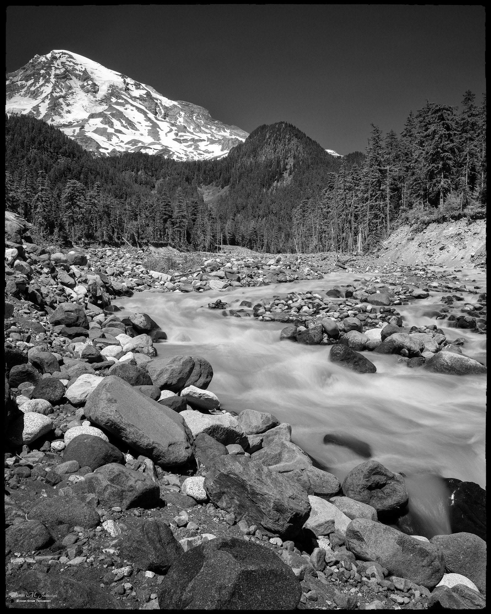 Nisqually River Rapids
