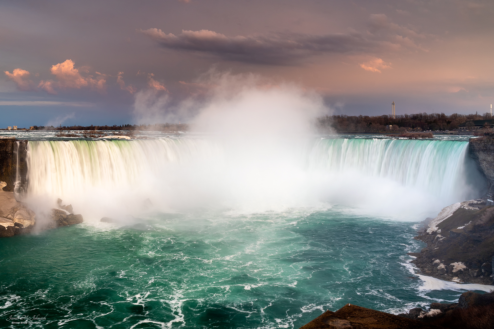 Niagara Falls Sunset