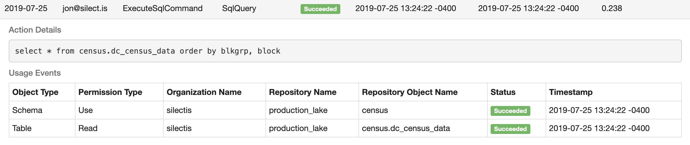SQL Query Audit