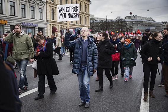 Manifestation. Malmö.