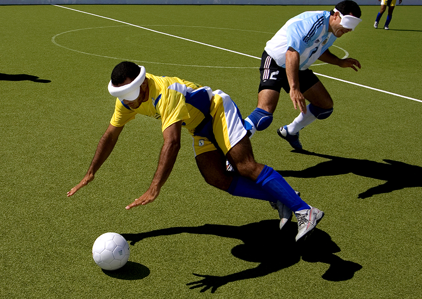 Blindfotboll i Paralympics. Aten, Grekland