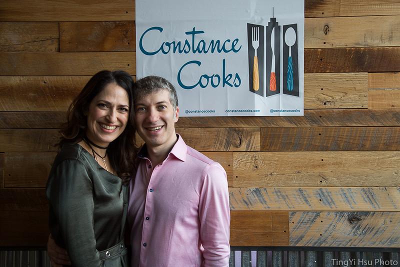 Constance Cooks  Lasagna Bake-off Benefit at DRIFT High Line Studio   (Photo: TingYi Hsu)