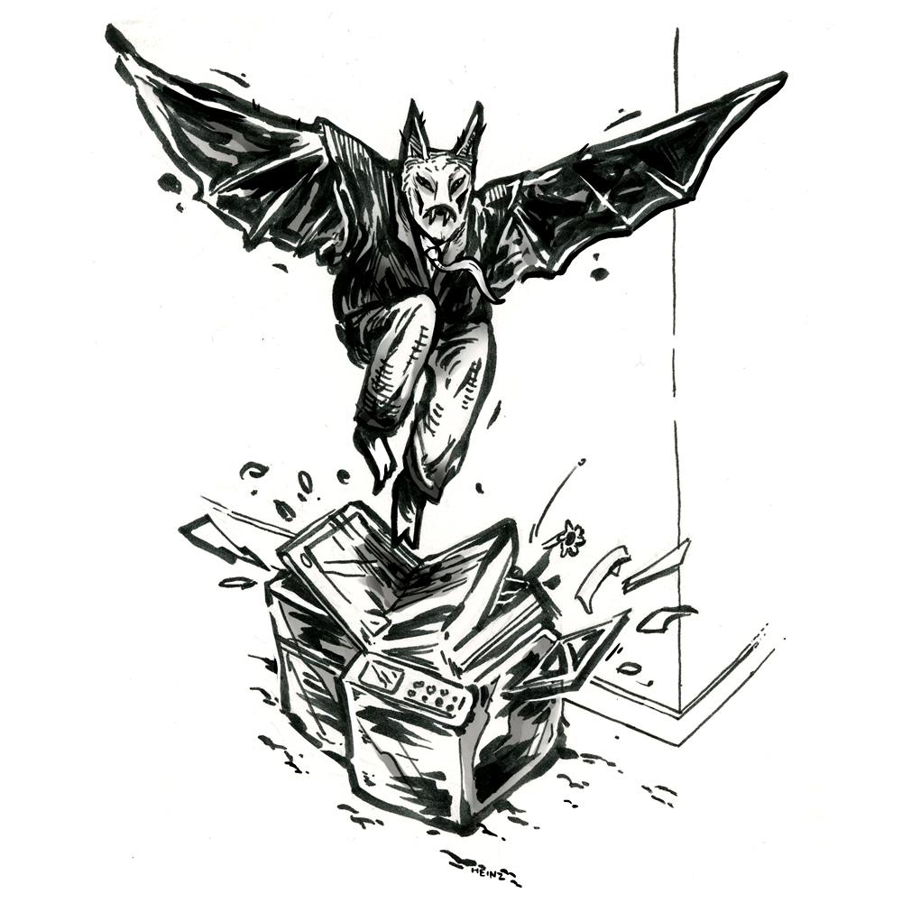 Batman hates work