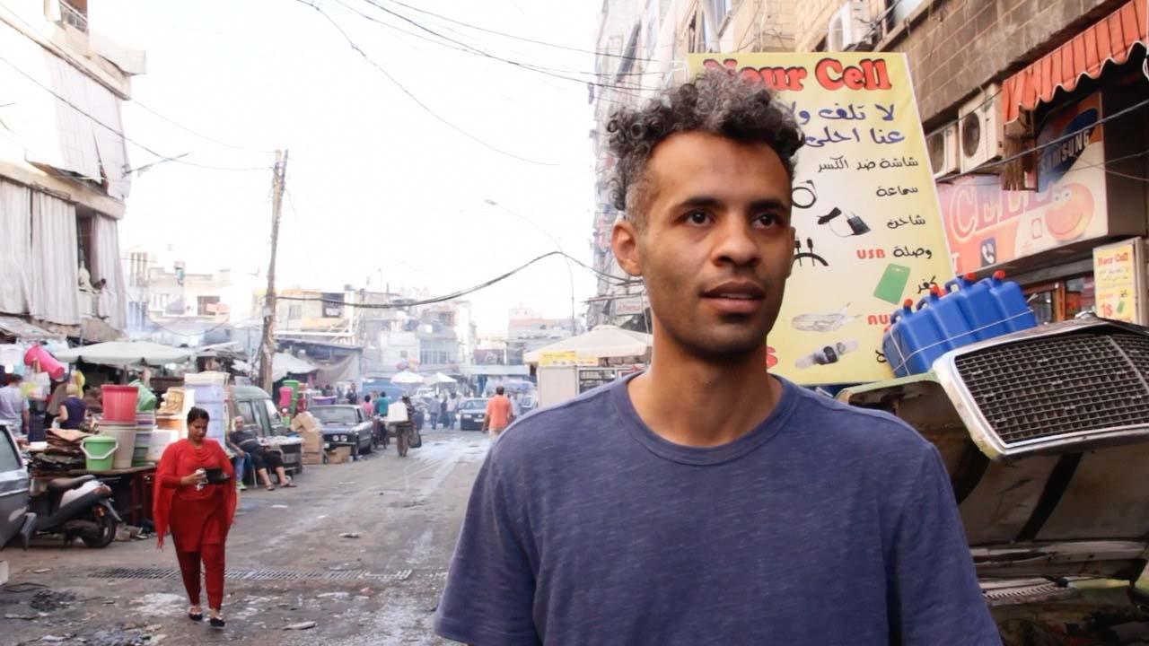 Extract from Champsaur's documentary about Abdel Rahman Katanani