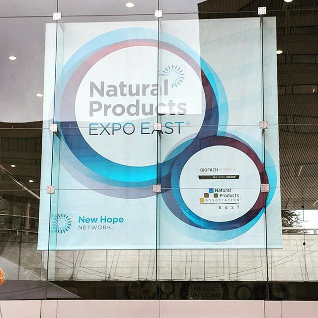 Connecting with so many amazing brands here at the expo! #naturalexpo #vegan