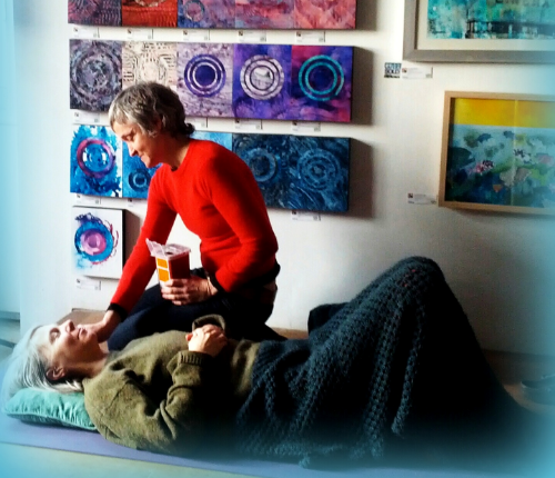Community Acupuncture at Gallery 788 April, 2015