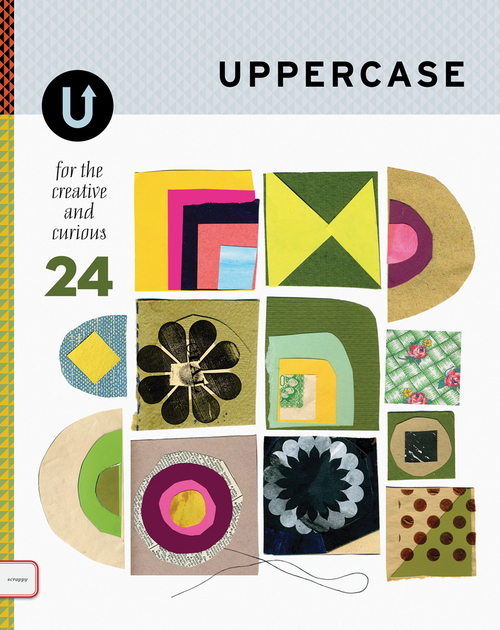 The most recent issue of Uppercase is about textile and fiber arts ~ contemporary weavers, quilters, fabric designers, and more!