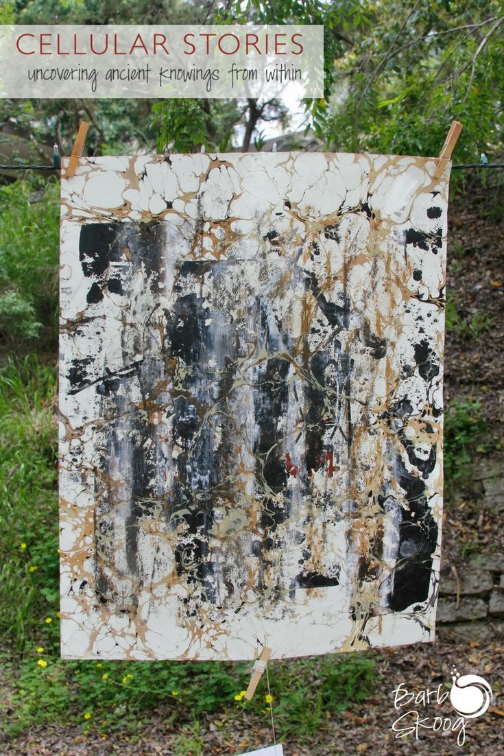 """Urban"" work. Paint slides, table rubbing, graffiti, marbling."
