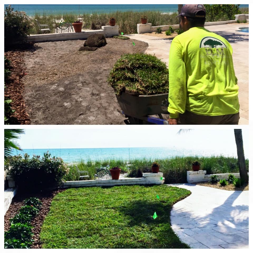 Eric's Land Management | Sod Installation