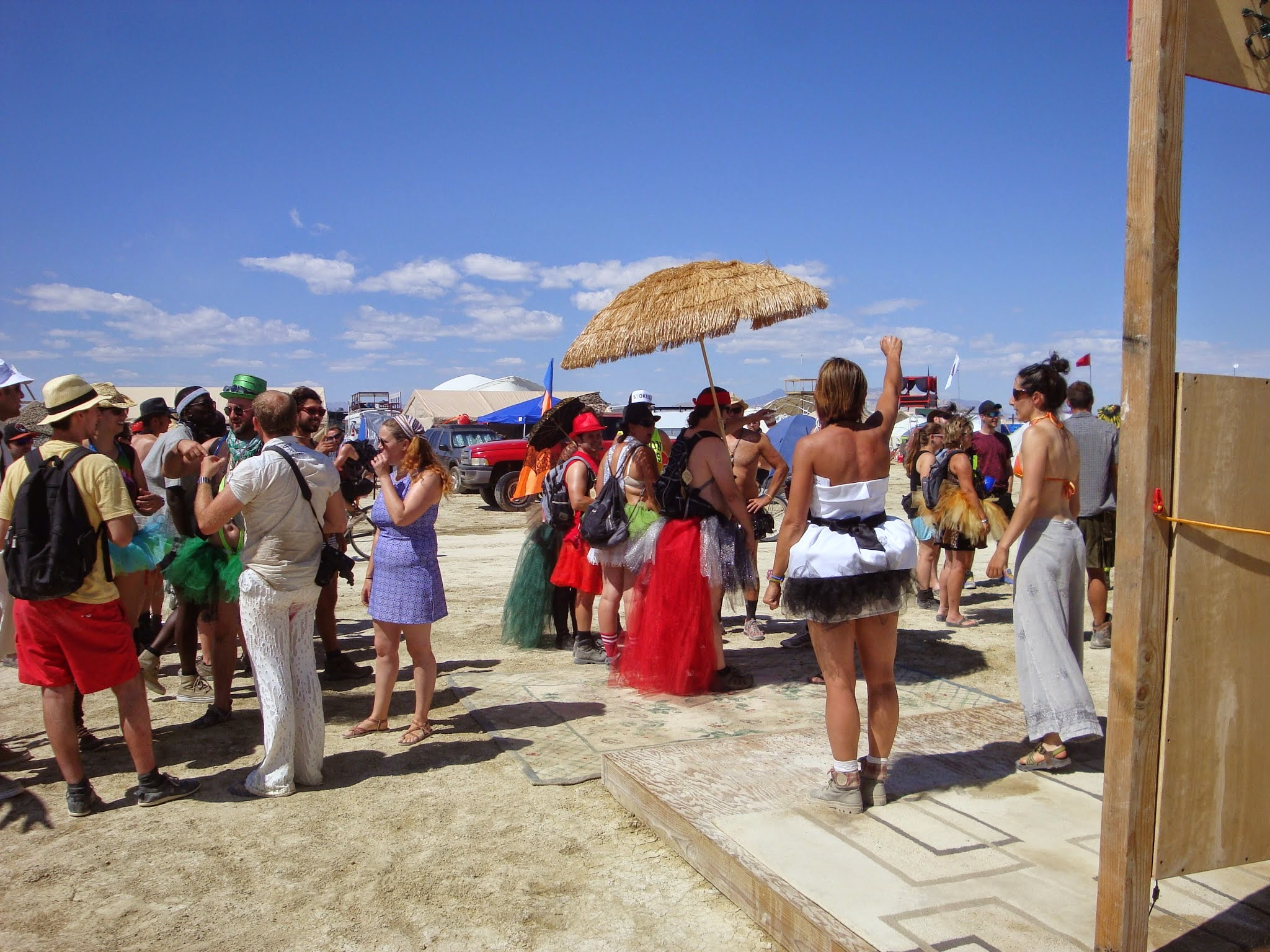 Leading a Yes workshop on how to make the most of your Burning Man. 2014