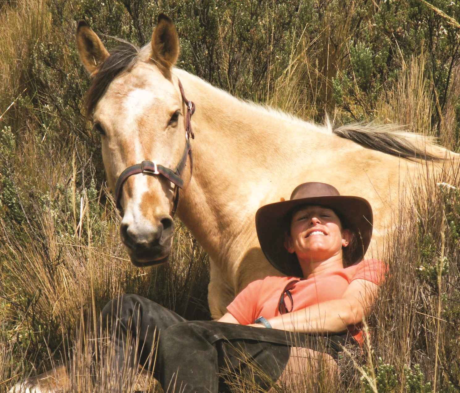 Sally - started her horse trekking business in 1996, after visiting Ecuador and falling in love with the colourful local culture and magnificent scenery. She is passionate about her 13 horses and her rescued border collie, Guapa. Sally guides many of the Ecuador and Uruguay rides. Click photo for more info...