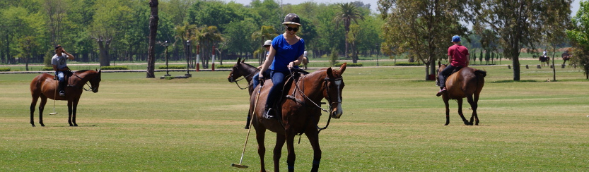 ride andes horse treks buenos aires polo lesson
