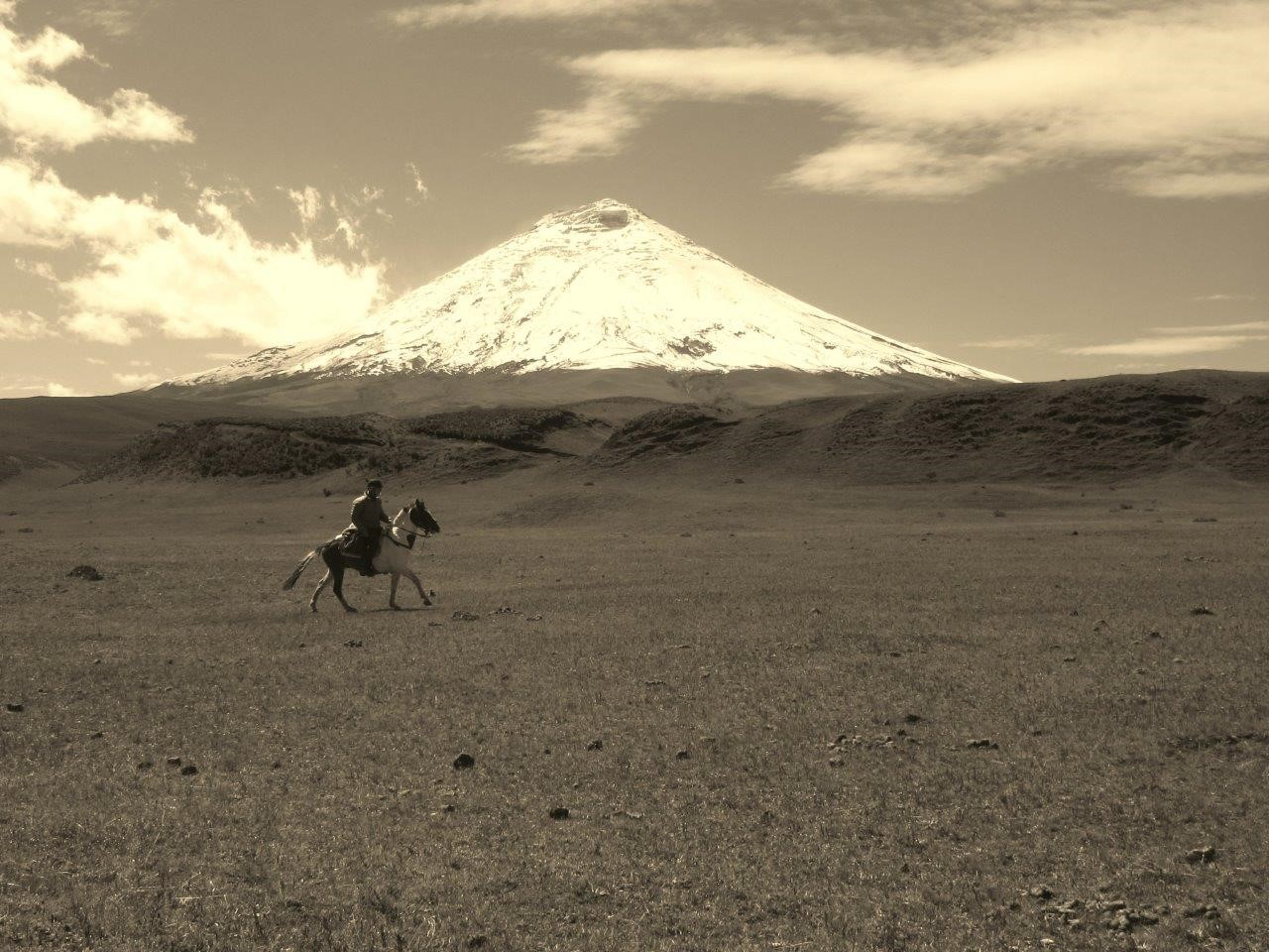 RIDE ANDES horse trek ecuador south america cotopaxi