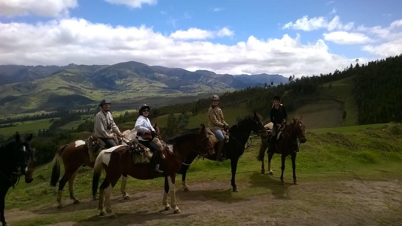 ecuador volcanoes vistas horse trek ride andes south america