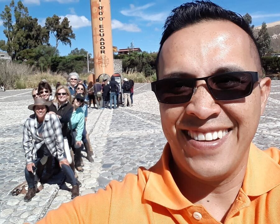 Meet Our Guide Christian - Christian, passionate about his country, has looked after Ride Andes guests while they are not in the saddle for many years. He is a walkingencyclopedia on Ecuador and this fun guide takes guests to visit local markets, local craftsmen, archaeological sites and much more.