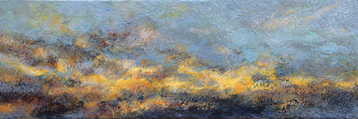 Encaustic Landscape 2 - SOLD