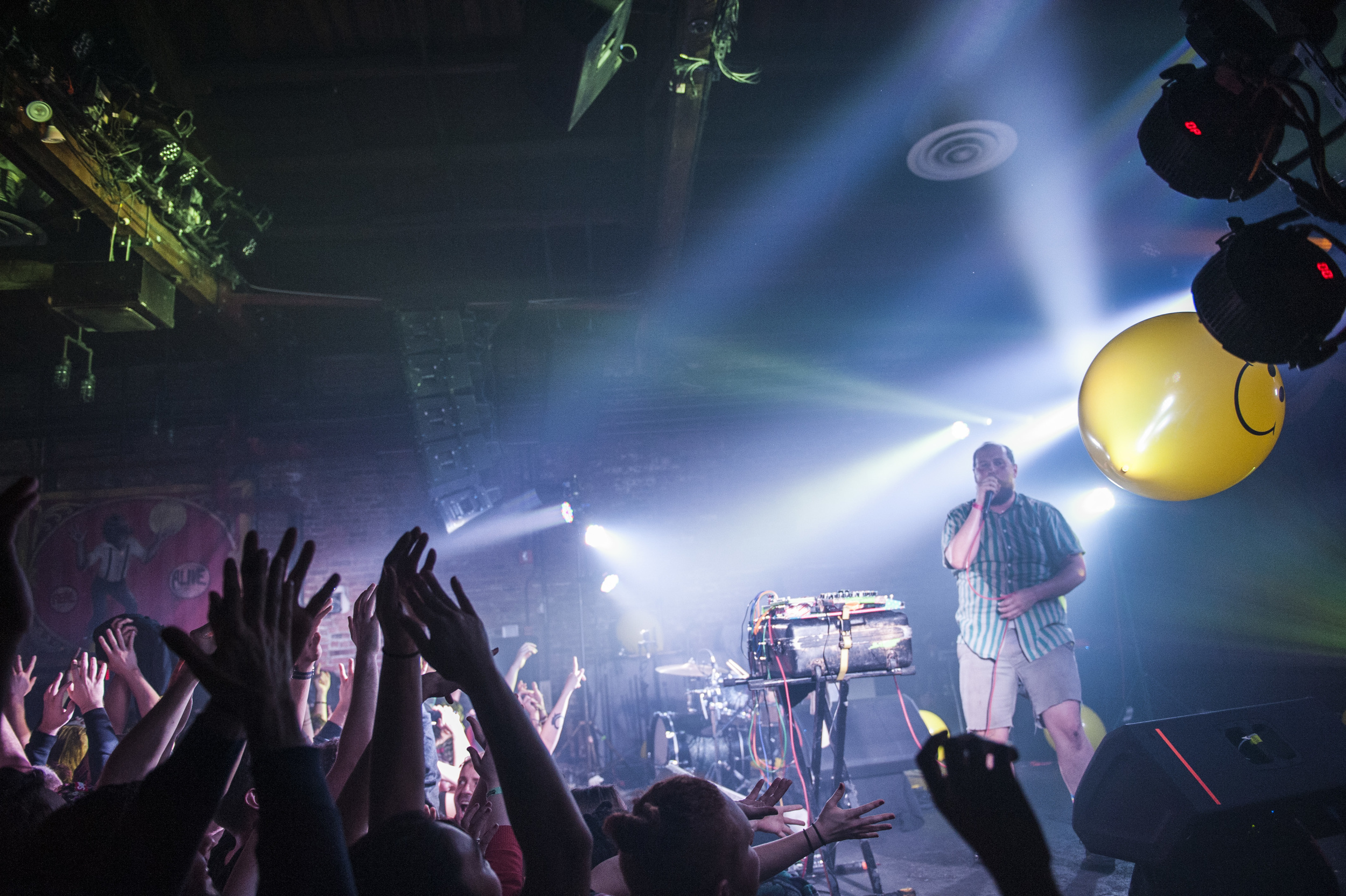 Dan Deacon at Brooklyn Bowl