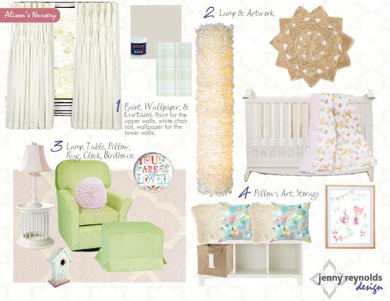 Blake's Nursery eDesign