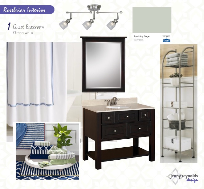 Rosebriar Bathroom eDesign