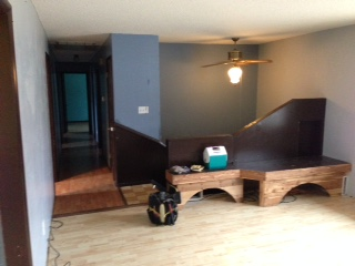 Before: Living Room looking to Entry