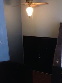Before: Entry looking at Front Door