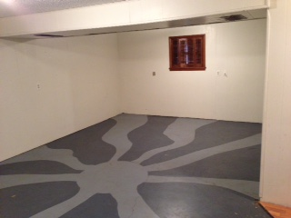 Before: Downstairs Family Room