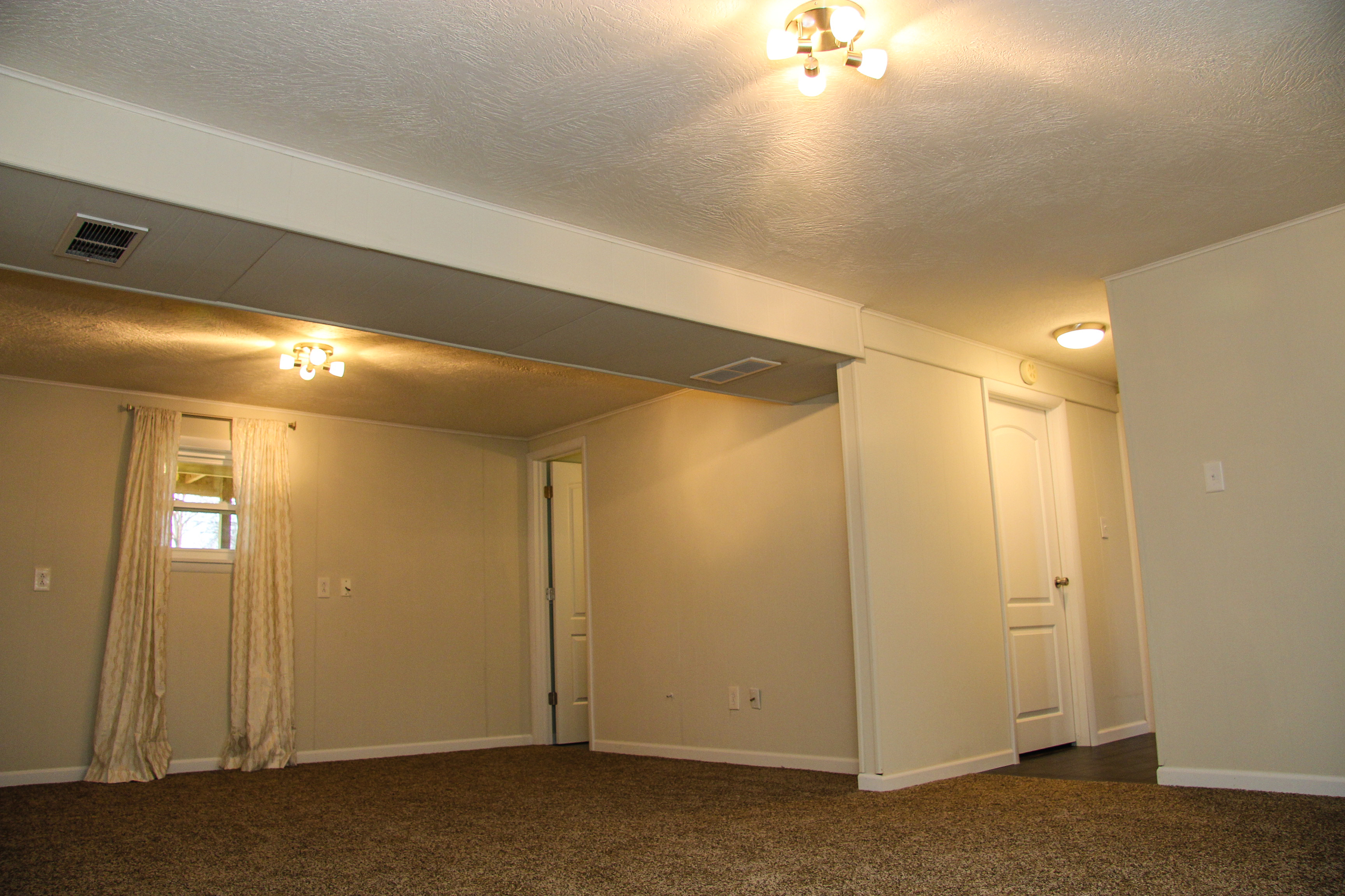 After: Downstairs Family Room