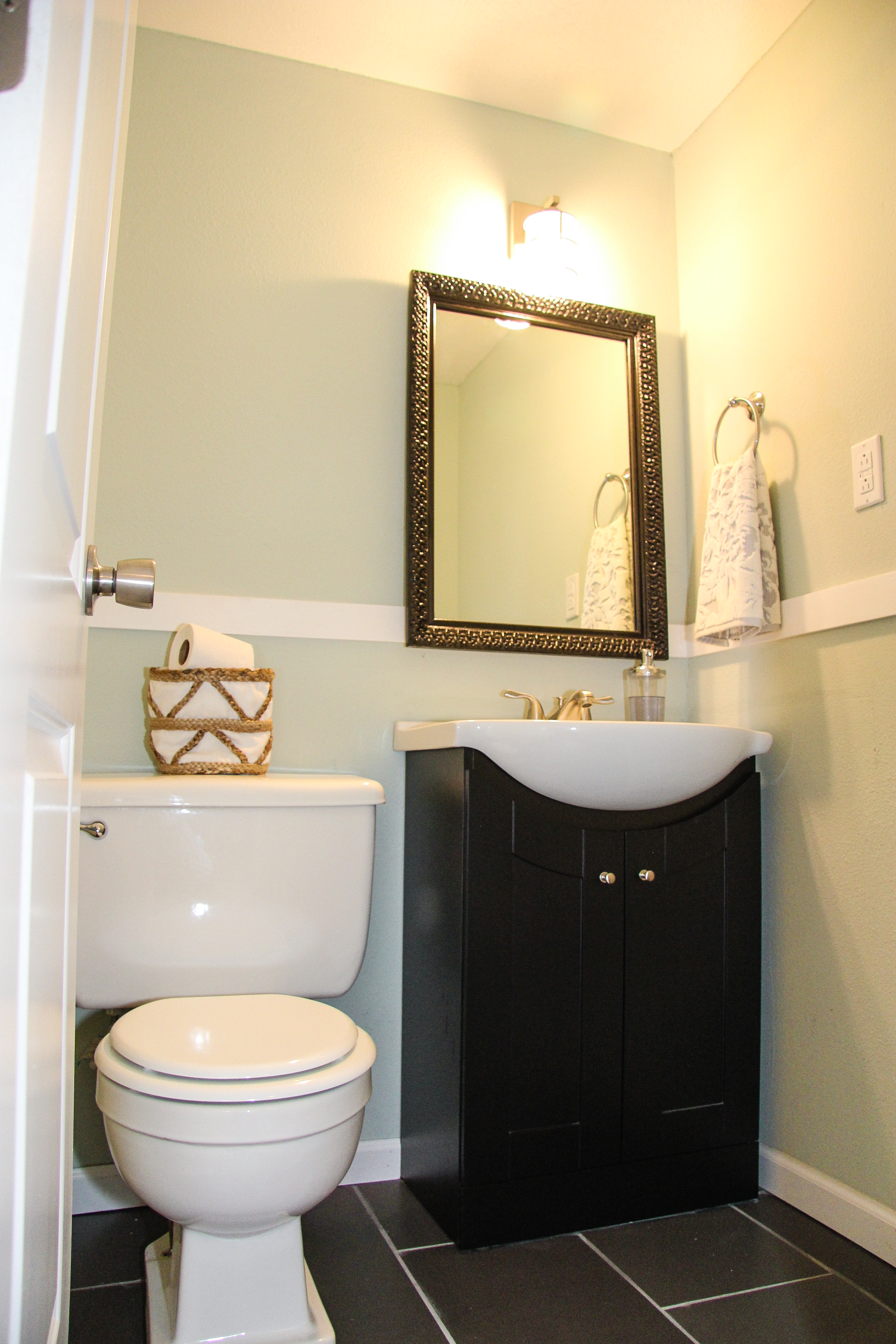 After: Downstairs Bathroom