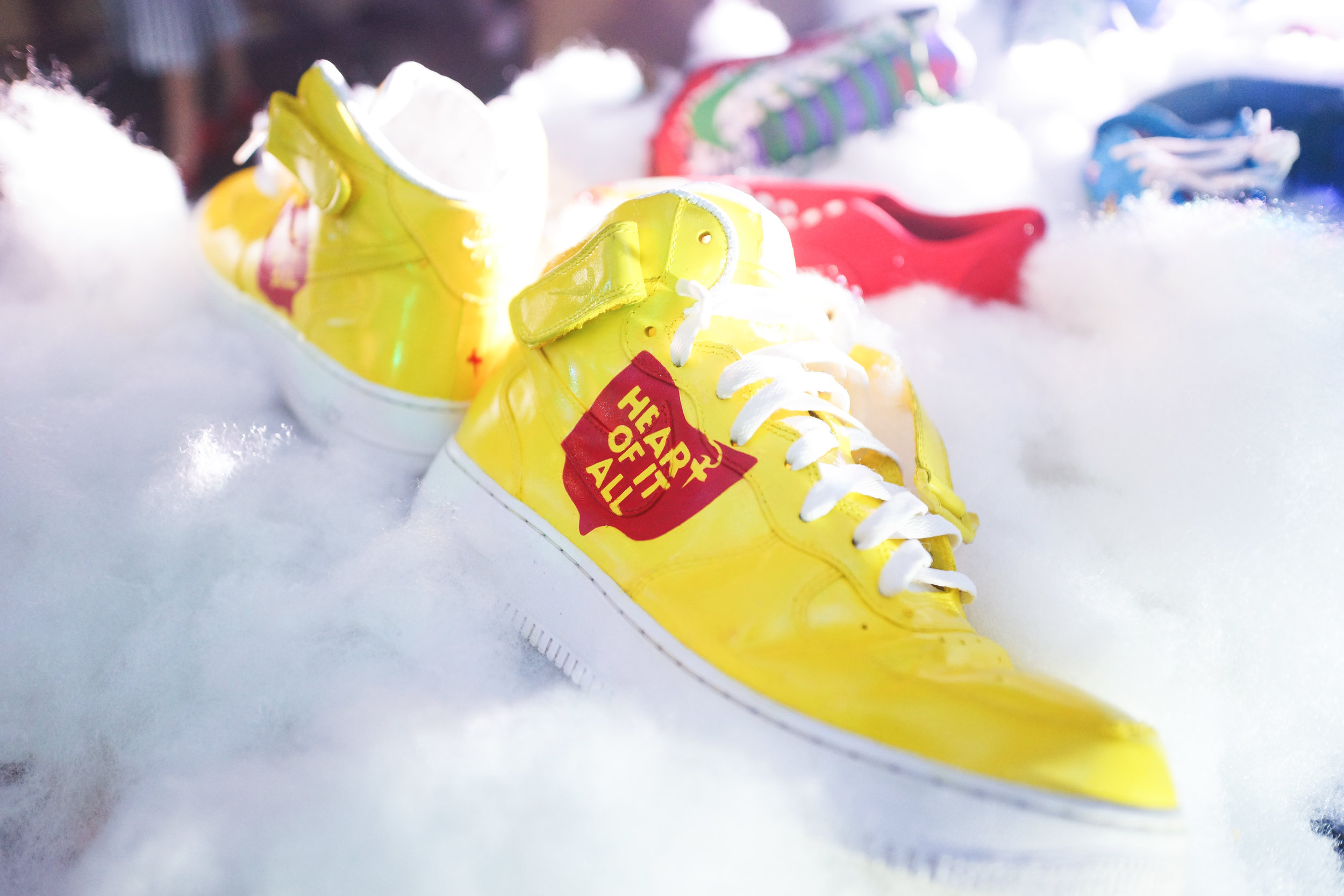 Custo Heart of it all Fashion Air Force Ones by Work the Customs