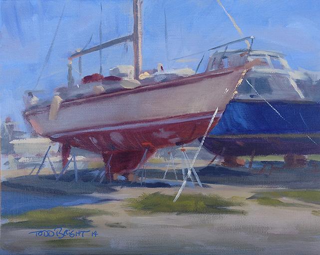 Boat Yard, Cocoa Beach, FL