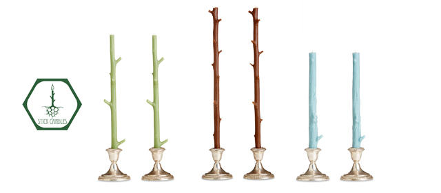 twig candles