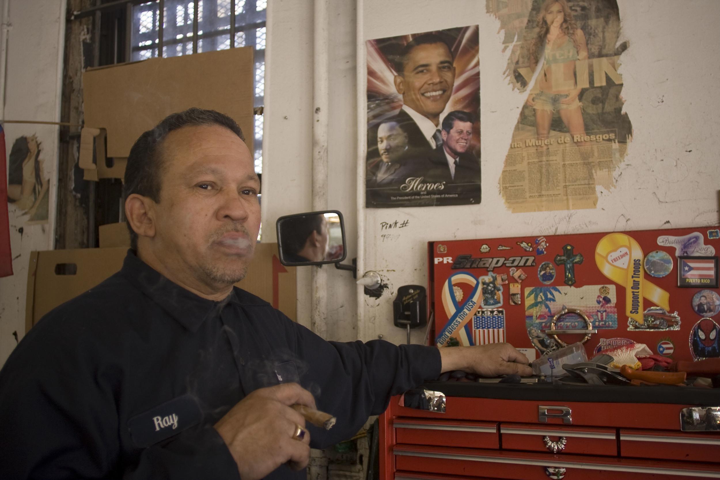 Rey. Bronx Auto Glass. 2011.