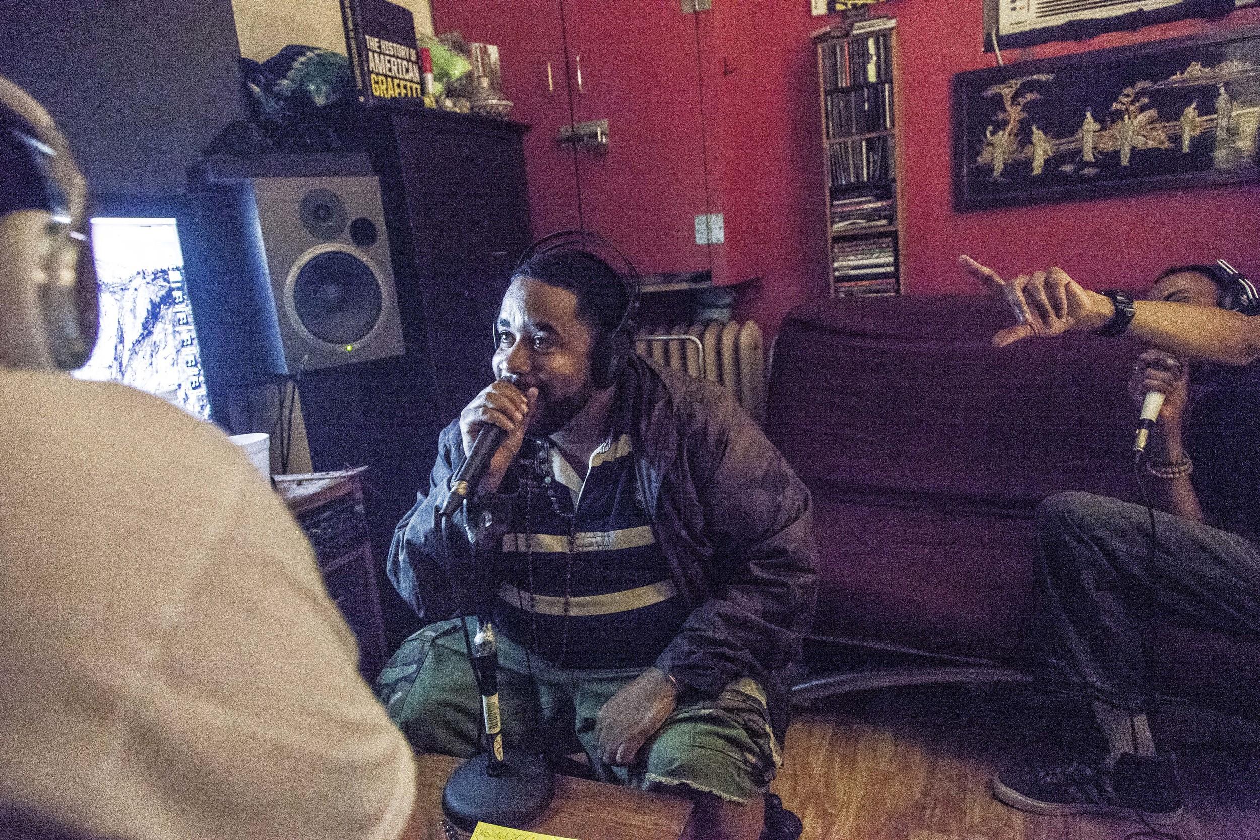 Guerrilla Grooves Radio. John Robinson. TME Pro Studios. Bronx, NYC. June 2015.