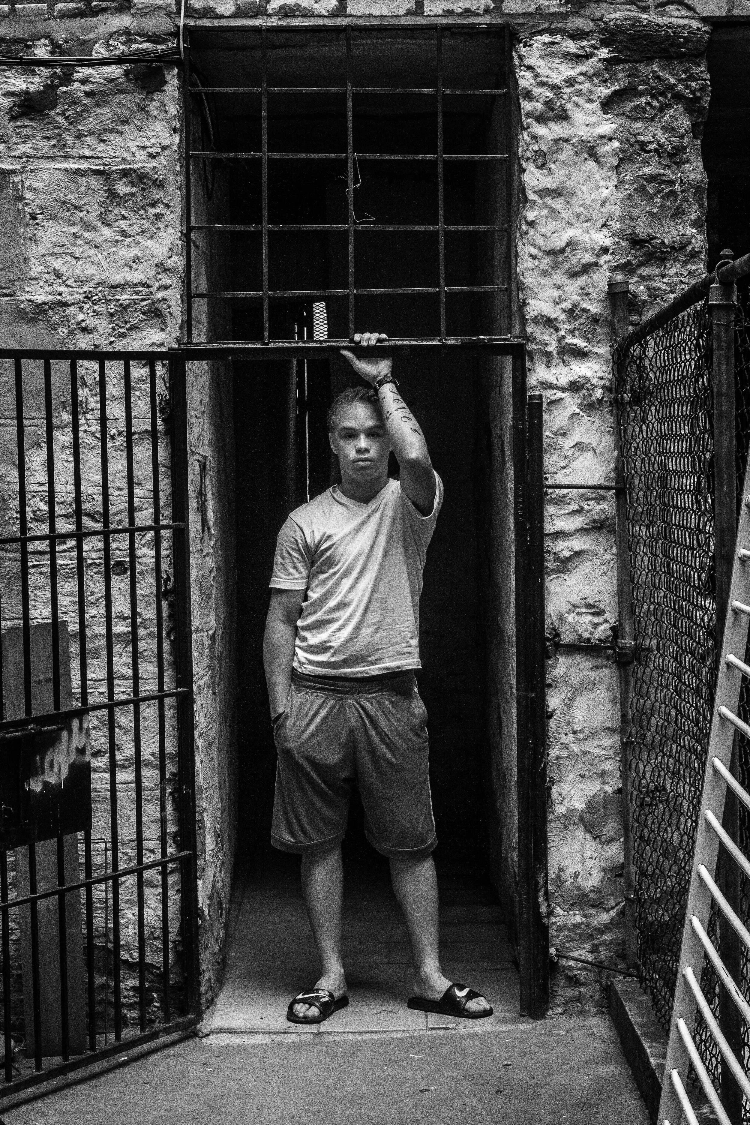 LOVE LIVES. Tim. Hunts Point, the Bronx, NYC. August 2012.