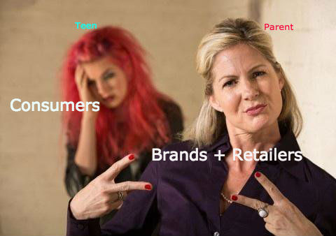 Modern consumers just aren't interested in trusting a brand or retailer.