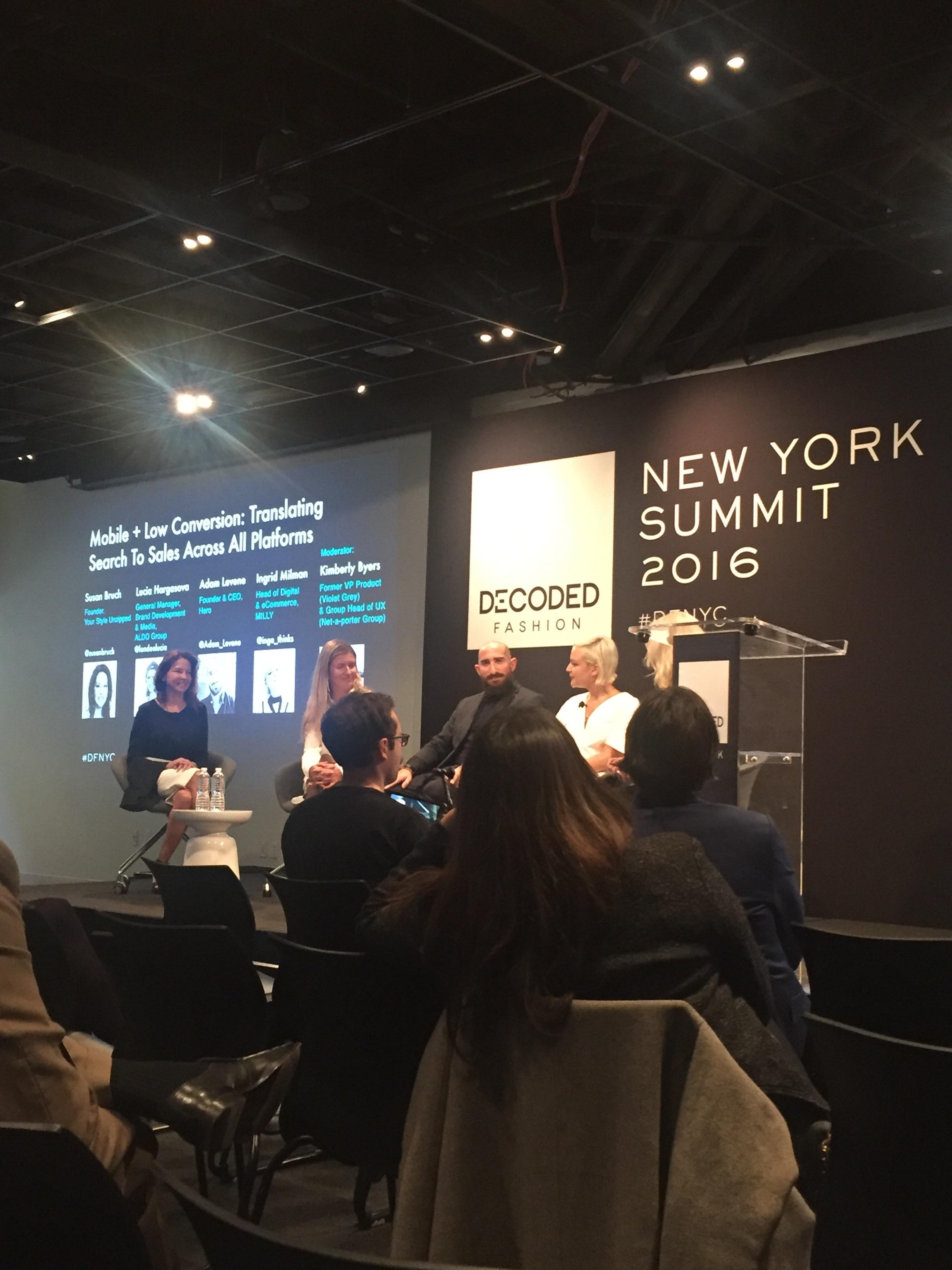 Decode Fashion NYC Summit