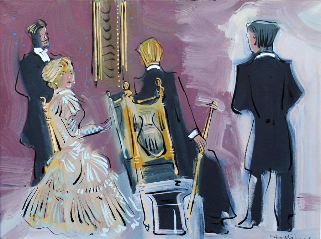 The Vinteuil Sonata, oil on canvas by Alan Halliday, 60cm x 80cm.JPG