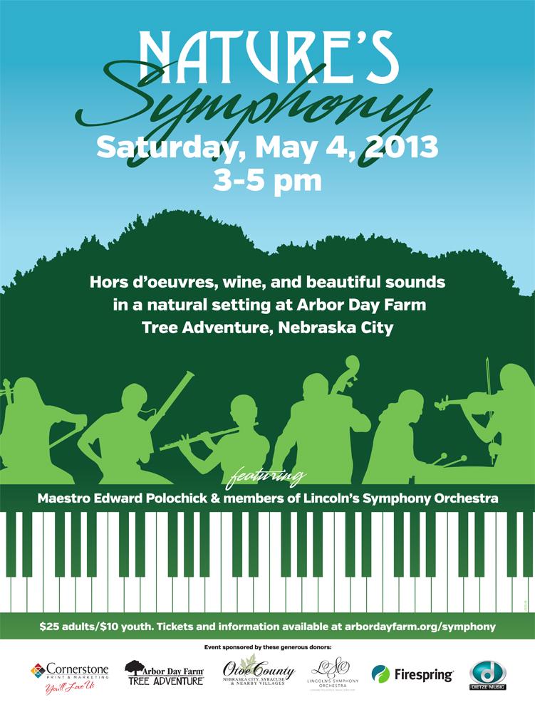 Nature's Symphony Poster