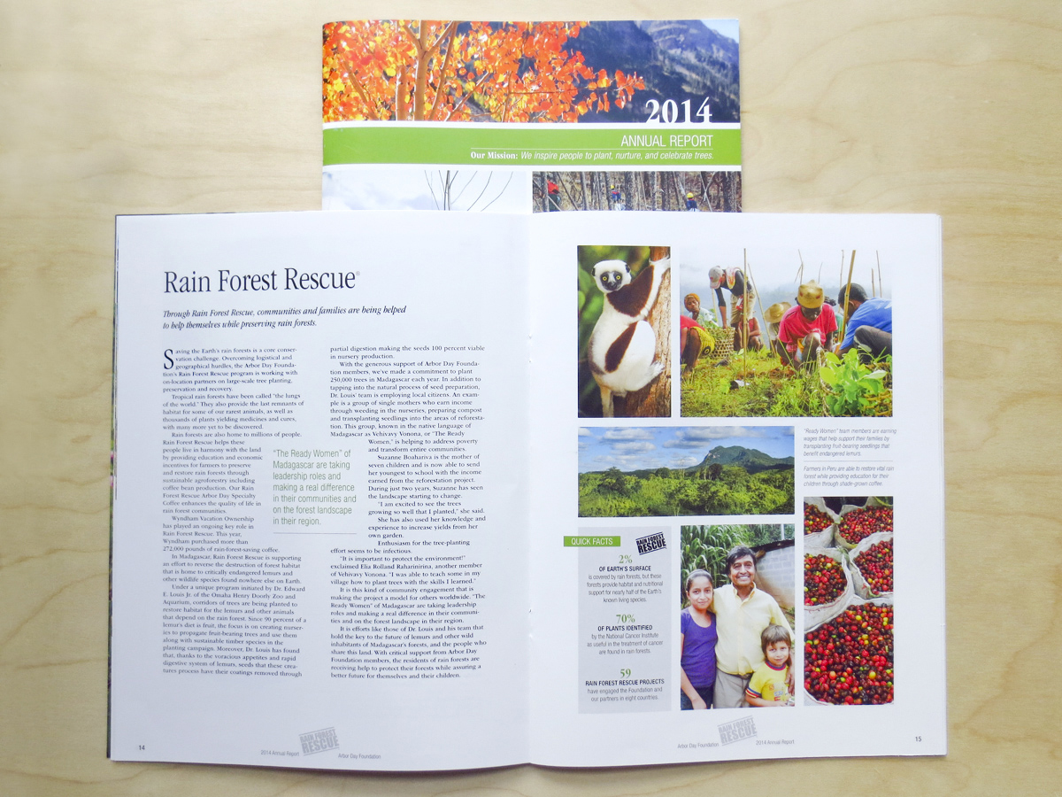 Arbor Day Foundation 2013-2014 Annual Report