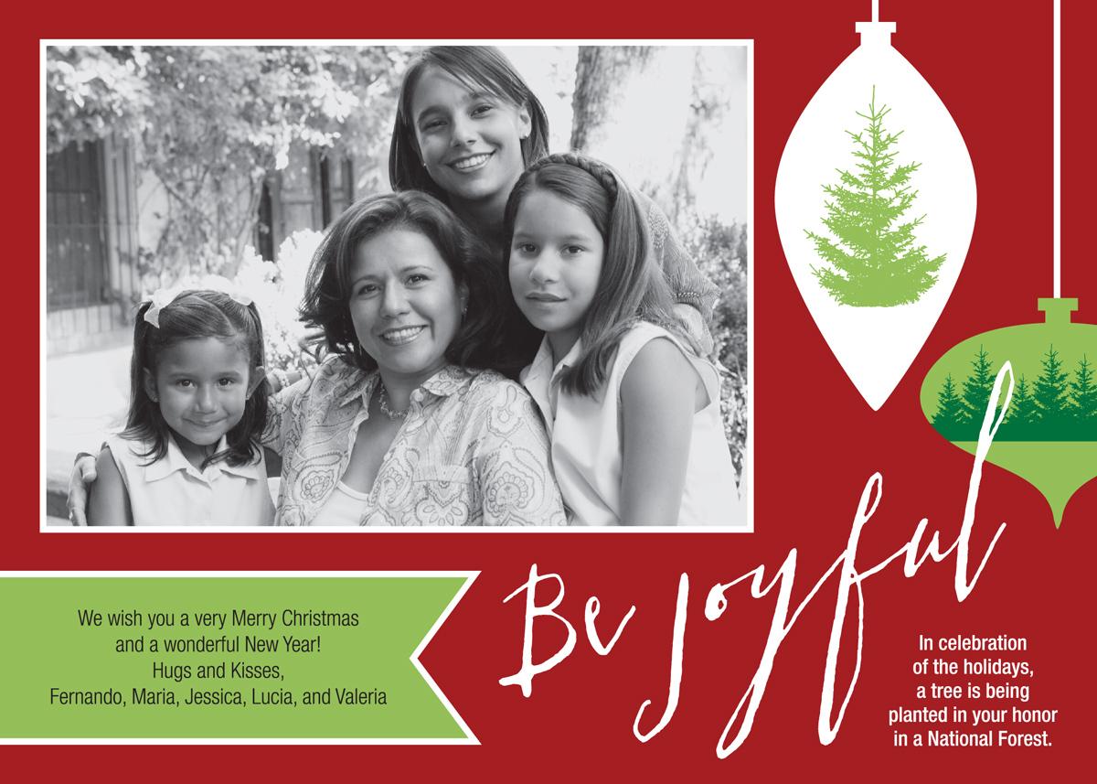 Christmas Photo Give-A-Tree® Card