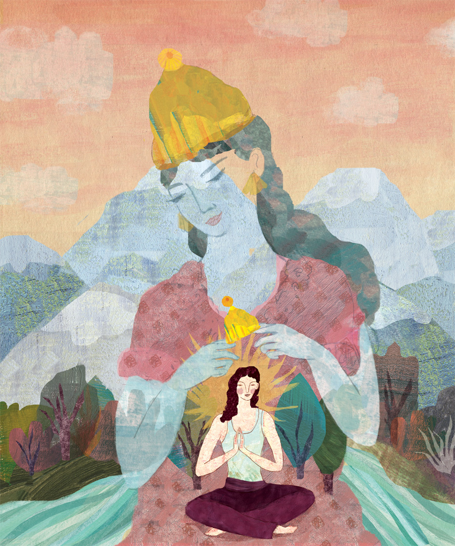 Finding your inner Goddess, Yoga Journal Magazine